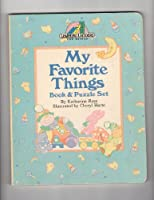 MY FAV THINGS BK/PUZZL (Learning Ladders) 0394891902 Book Cover