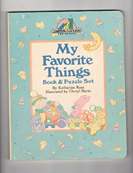 Hardcover MY FAV THINGS BK/PUZZL (Learning Ladders) Book