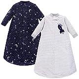 Yoga Sprout Unisex Baby Long-Sleeve Fleece Sleeping Bag, Sack, Blanket, Spaceship, 0-9 Months