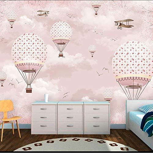 Mongolfiera camera dei bambini carta da parati boy room rivestimento murale personalizzato senza soluzione di continuità sogg carta da parati fotomurali murale Soggiorno camera da letto-400cm×280cm