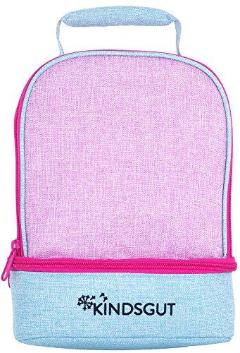 Kindsgut Rucksack für Klein-Kinder, Kita-Rucksack mit 2 Fächern und Brustgurt, hoher Trage-Komfort für Kinder ab ca. 1 Jahr, ideal für den Kindergarten und kleine Ausflüge, Zartrosa