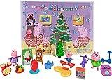 Peppa Pig PEP0658 Calendario dell'Avvento 2021 con personaggi di Peppa Pig, per bambini a partire dai 2 anni