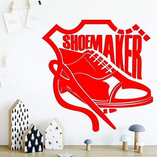 HNXDP Modische Schuhe Wandaufkleber Selbstklebende Kunst Tapete Für Baby Kinderzimmer Dekor Schlafzimmer Kinderzimmer Dekoration 58cmX58cm