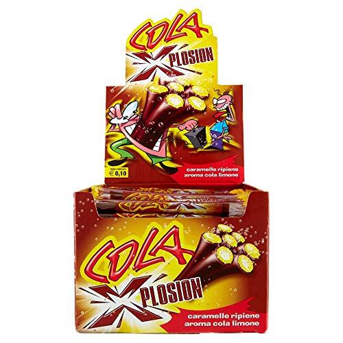 Gelco Cola Xplosion Caramelle Gommose, Box da 150 Pezzi, Gusto Cola, Caramella Incartata Singolarmente, Ideale per Feste per Bambini