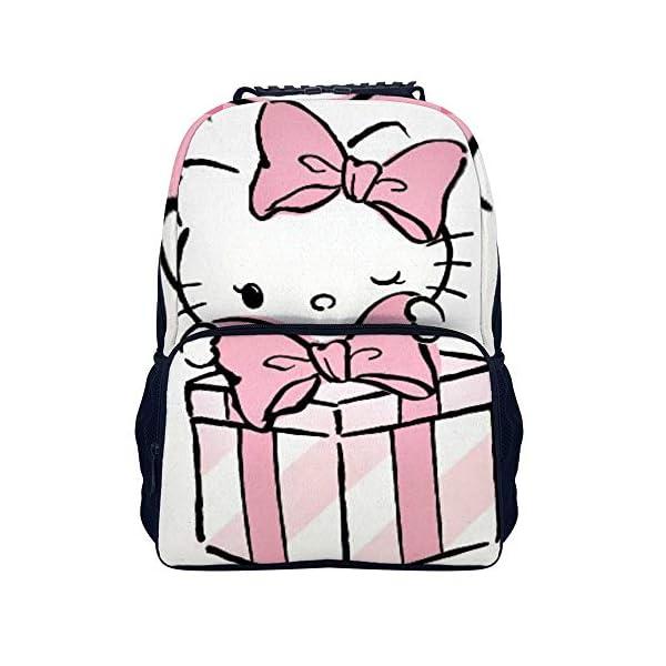 51XZ0kunatL. SS600  - Hello Kitty mochila de regalo escolar bolsa de viaje de negocios mochila para hombres mujeres adolescentes escuela universidad 16 pulgadas