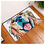 Makaor Doormat,Bathroom Carpet,Cartoon Animal Non Slip Door Floor Mats Rugs Kitchen Hall Entryway Carpet Home Decor