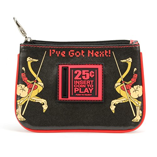 Crowded Coop, LLC Midway Arcade Games Zippered Coin Purse - Joust