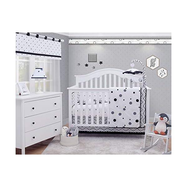 OptimaBaby 6 Piece Baby Nursery Crib Bedding Set