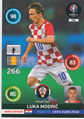 Panini Adrenalyn XL Road to UEFA Euro 2016 – Luka MODRIC Game Changer