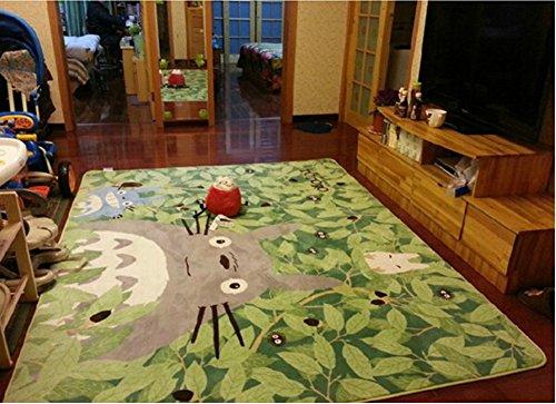 Judy Dre am Hayao Miyazaki Totoro Doormat Baby Crawling Mat Carpet Children Bedroom Carpet Living Room Rugs