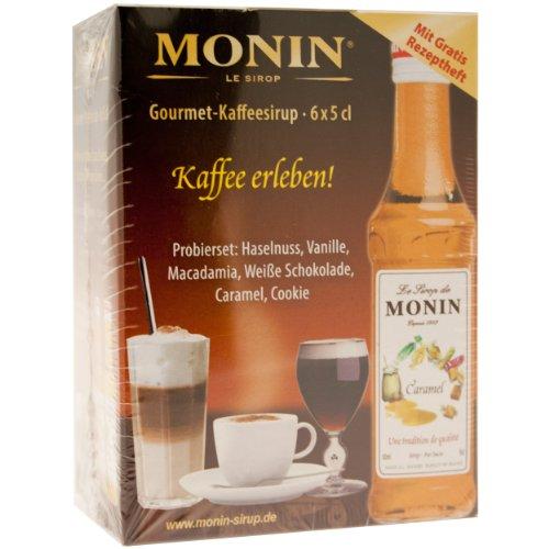 MONIN MON-MINI-COFFEE-SET-6X-50ML Mini Coffee ,