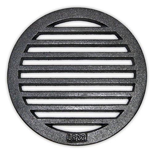 Rundrost Ø 22 cm - Gussrost Ofenrost Ascherost Tafelrost Kaminrost Premiumqualität