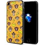 サル ゴリラ チンパンジー スマホケース IPhone8 ケース IPhone7 ケース おしゃれ 個性的 耐衝撃