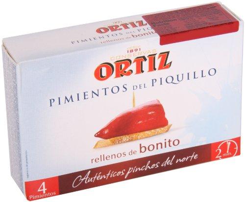 Pimientos del Piquillo rellenos de bonito 300g Ortiz selección Zapore Jai