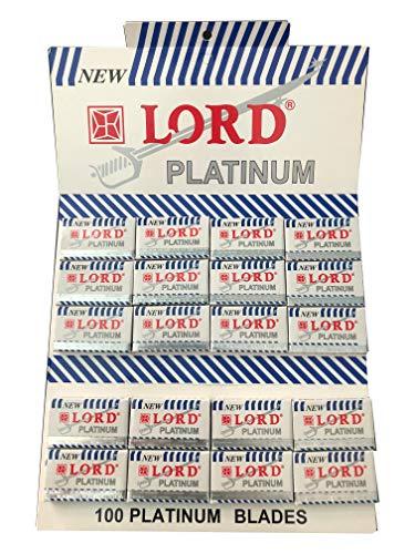 100 Lord Platinum Rasierklingen