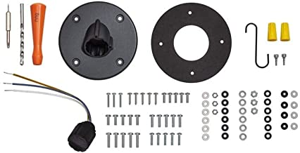 Hardwired Kit for Ring Spotlight Cam Wired - Black