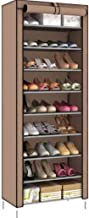 for shose wardrobe covered with cloth