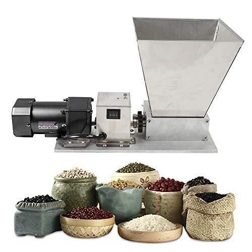 Kaibrite 75 U/min Elektrische Getreidemühle 40w Grain Crusher Malzmühle Edelstahlwalze Grain Crusher,max unterbringen Grain 4 kg
