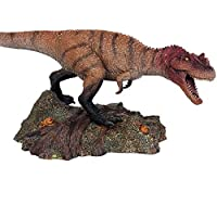 Eden Toys ケラトサウルス Ceratosaurus 恐竜 プラモデル 模型 大人 キッズ 孫 誕生日 プレゼント リアル フィギュア PVC おもちゃ 28cm級 塗装済 完成品 インテリア 置物 オプジェ 台座付き