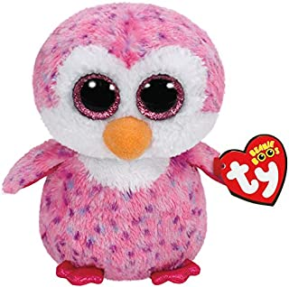 BEANIE BOOS TY Plush - Glider The Pink Penguin 15cm