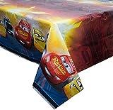Unique Disney Cars Plastic Tablecloth, 84' x 54', Multi (59923)