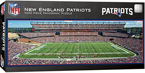 MasterPieces NFL Panoramics 1000 Puzzles Collection - New England Patriots NFL Panoramics 1000 Piece Jigsaw Puzzle