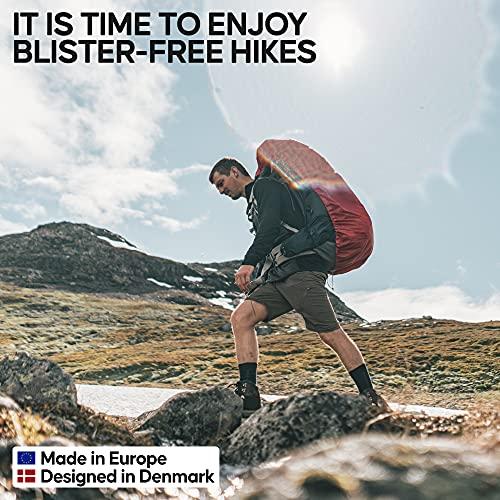 Merino Wool Hiking & Walking Socks 3 pack (Light Grey, US Women 11-13 // US Men 9.5-12.5)