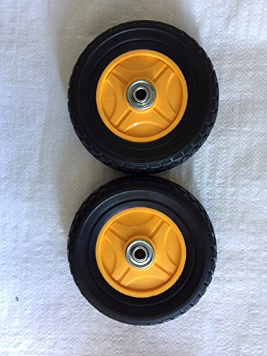 "SaidiCo Direct Mclane Edger 7"" Front Wheel Complete with Bearings Replaces (2Pack) Part# 7075-7"