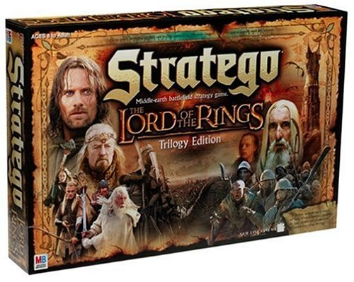 Hasbro The Lord of The Rings Stratego Game