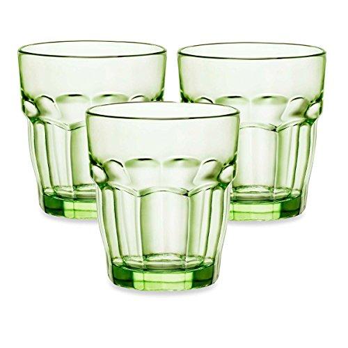 Bormioli Rocco Rock Bar Lounge menta 9.25oz piedras de cristal, juego de 12
