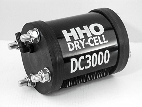 HHO Generador de células secas DC3000 2.5 LPM 100% hidrógeno inox