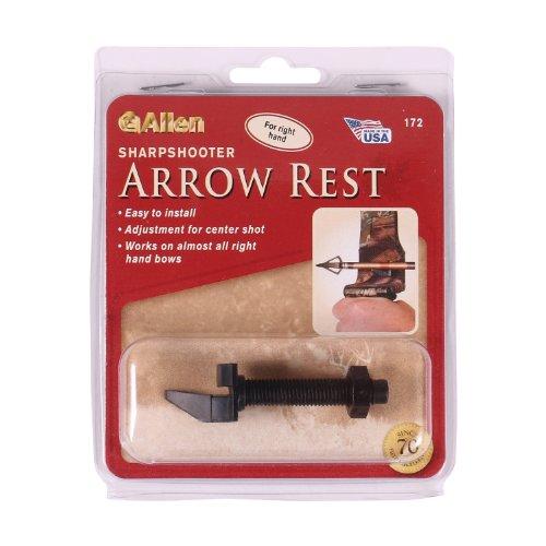 Allen Company Sharpshooter Arrow Rest, Right Hand, Black