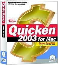 Quicken 2003 for Mac
