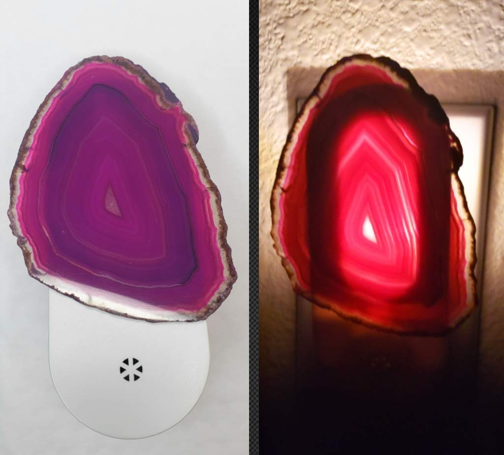 Agate Crystal Popularity Great interest Night Light Home F Decor Wall Lighting