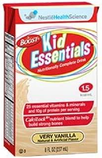 Boost Kid Essentials 1.5 Nutritionally Complete Drink, Very Vanilla, 8 fl oz Box, 27 Pack