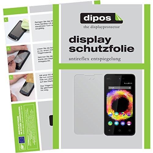 dipos I 6X Schutzfolie matt kompatibel mit Wiko Sunset 2 Folie Bildschirmschutzfolie
