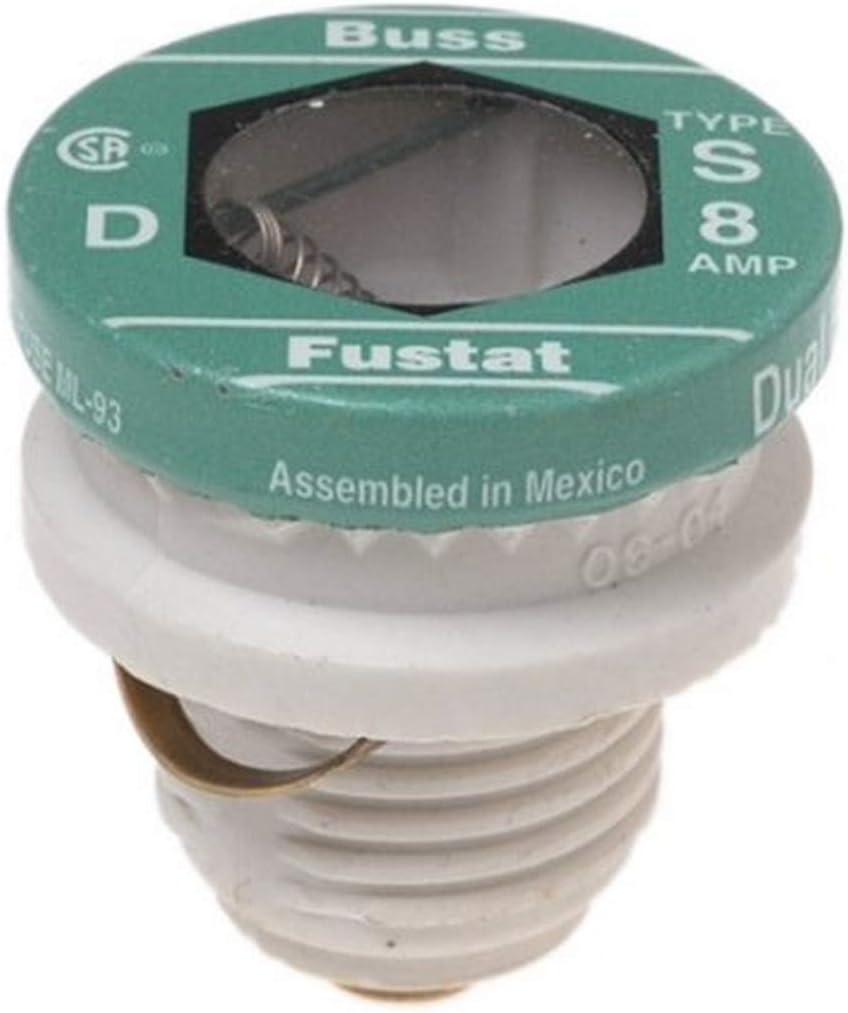 Bussmann BP S-8 Max 42% OFF 8 Amp Type Plug Rapid rise S R Fuse Time-Delay Dual-Element