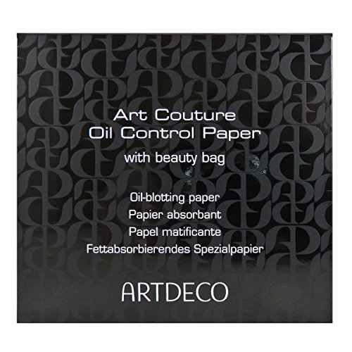 Artdeco Art Couture Oil Control Papier mit beauty Bag, 100 Blätter