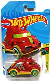 Hot Wheels 2019 Dino Riders Tricera Truck (Triceratops Car) 12/250, Red