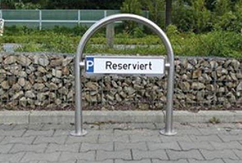 Rundbügel/Parkplatzbeschilderung zum...