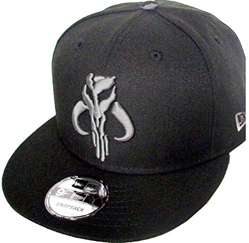 New Era Boba Fett The Mandalorian Black Graphit Star Wars Snapback Cap 9fifty 950 OSFA Basecap