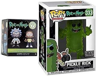 Double R&M Figure Pack Exclusive Funko Pickle Rick Pop Animation + Rick & Morty Character Action Bundle Mini Minis Box Vinyl Character Bundle