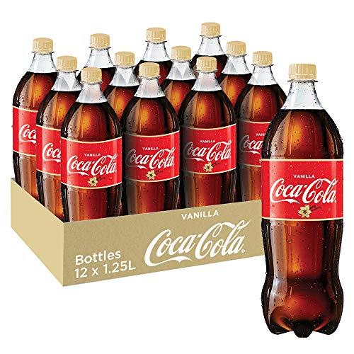 Coca-Cola Vanilla Soft Drink, 12 x 1,25 liter