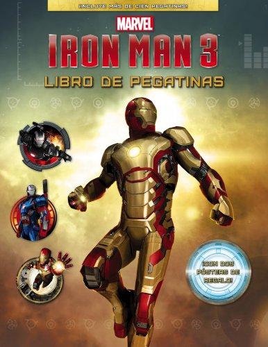 Iron Man 3. Libro de pegatinas (Marvel. Superhéroes)