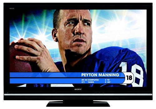 Sony BRAVIA V-Series KDL-52V5100 52-Inch 1080p 120Hz LCD HDTV, Black (2009 Model)