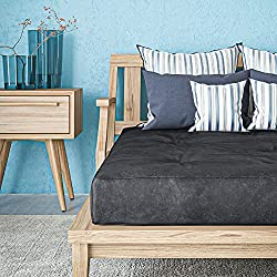 commercial Classic Brand Classic 8inch Duvet Mattress, Independent Coil Spring, Full, … ikea futon mattresses
