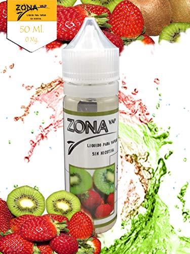 Zona Vap Kiwi Fresa 50ml E líquido Liquido Vaper
