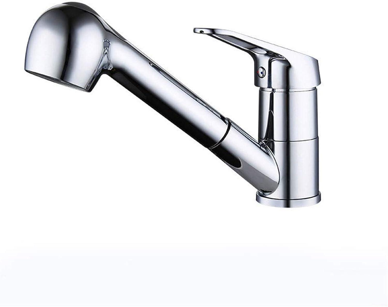 Extensión de cobre completa con la boquilla de la manguera, el lavabo extraiga el grifo del lavabo del grifo