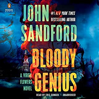 Bloody Genius audiobook cover art