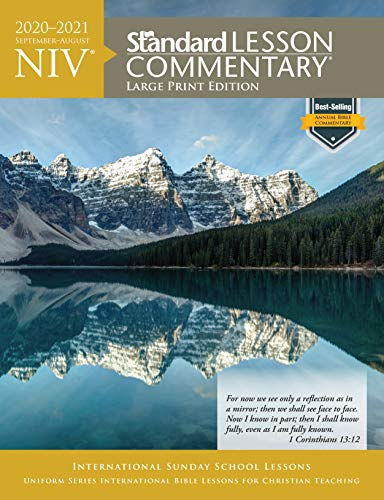 Compare Textbook Prices for NIV® Standard Lesson Commentary® Large Print Edition 2020-2021 Large Print Edition ISBN 9780830779062 by Standard Publishing